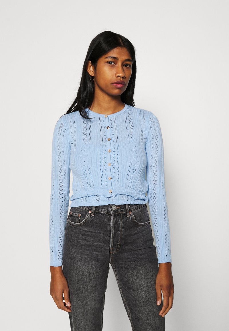 BDG Urban Outfitters - TWIN SET - Cardigan - blue