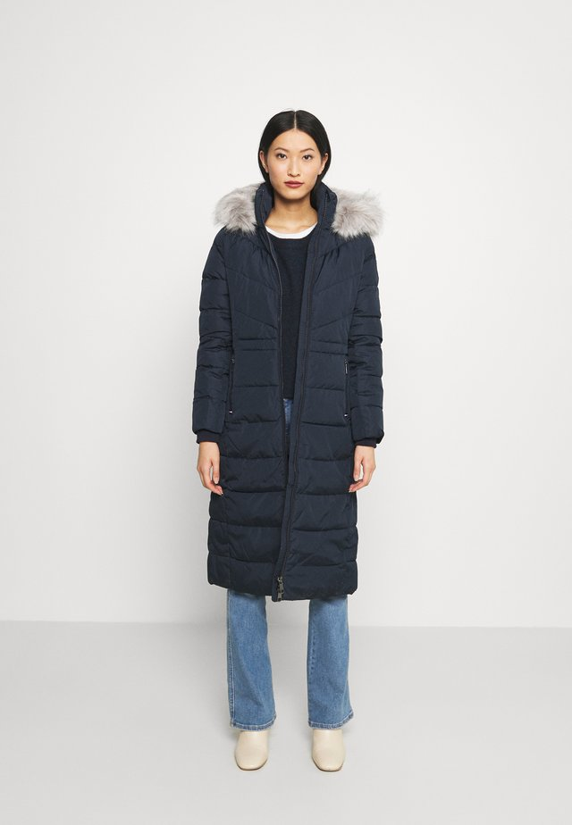 SORONA PADDED MAXI COAT - Wintermantel - desert sky