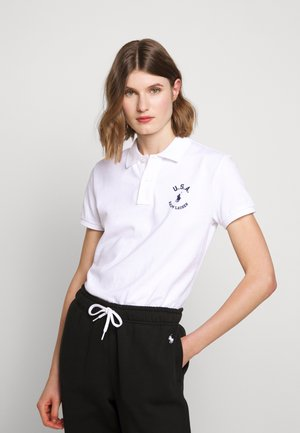 FLAG CLASSIC FIT - Polo - white