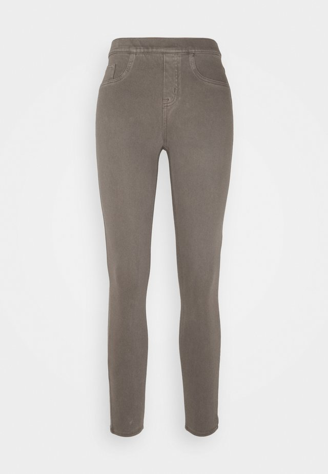 ANKLE - Leggingsit - earthy taupe