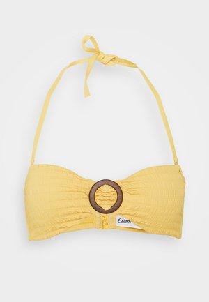 BANDEAU - Bikini top - jaune soleil