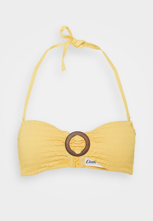 BANDEAU - Bikiniyläosa - jaune soleil