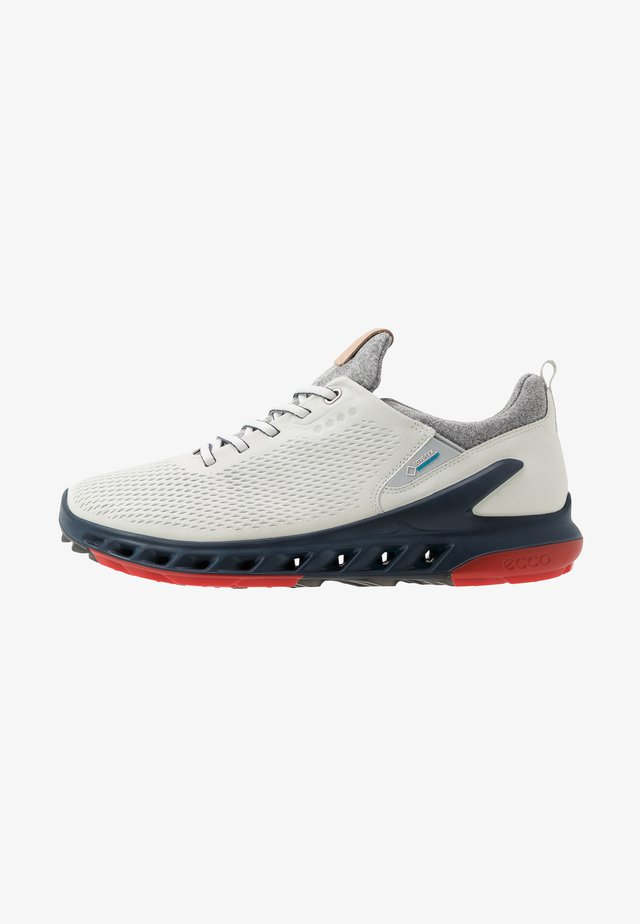 M. BIOM COOL PRO - Golf shoes - white/scarlet