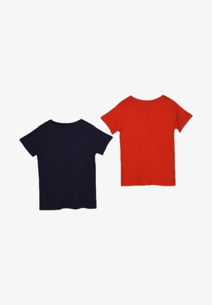 2 PACK - Basic T-shirt - navy blue