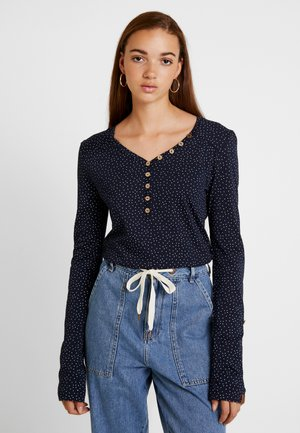 PINCH - Long sleeved top - navy