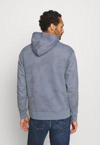 Nike SB - HOODIE UNISEX - Sweatshirt - ashen slate/midnight navy - 2