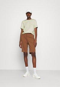 ARKET - Basic T-shirt - mint green - 1