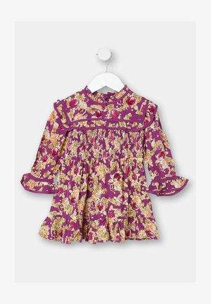 Shift dress - purple