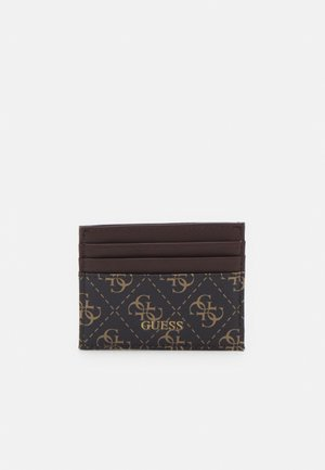 VEZZOLA CARD CASE UNISEX - Portefeuille - dark brown