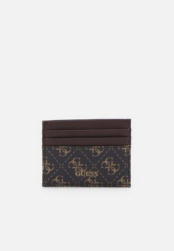VEZZOLA CARD CASE UNISEX - Portafoglio - dark brown
