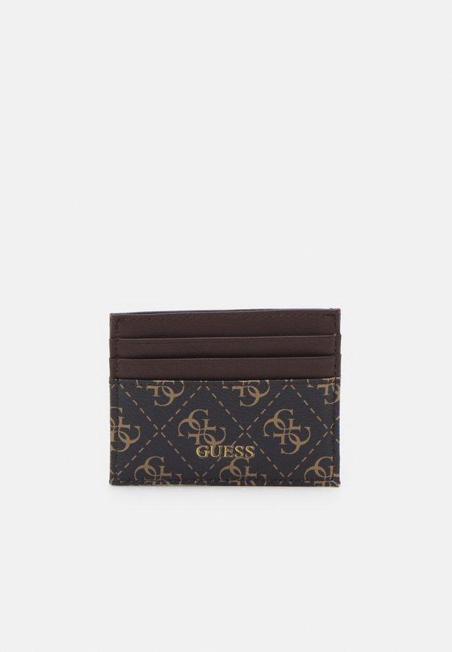 VEZZOLA CARD CASE UNISEX - Portefeuille - dark brown