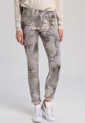 Trousers - sand varied