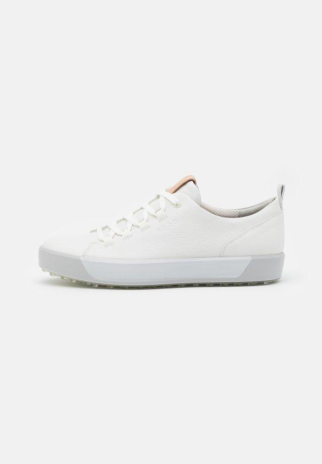 GOLF SOFT - Golfové boty - bright white/concrete