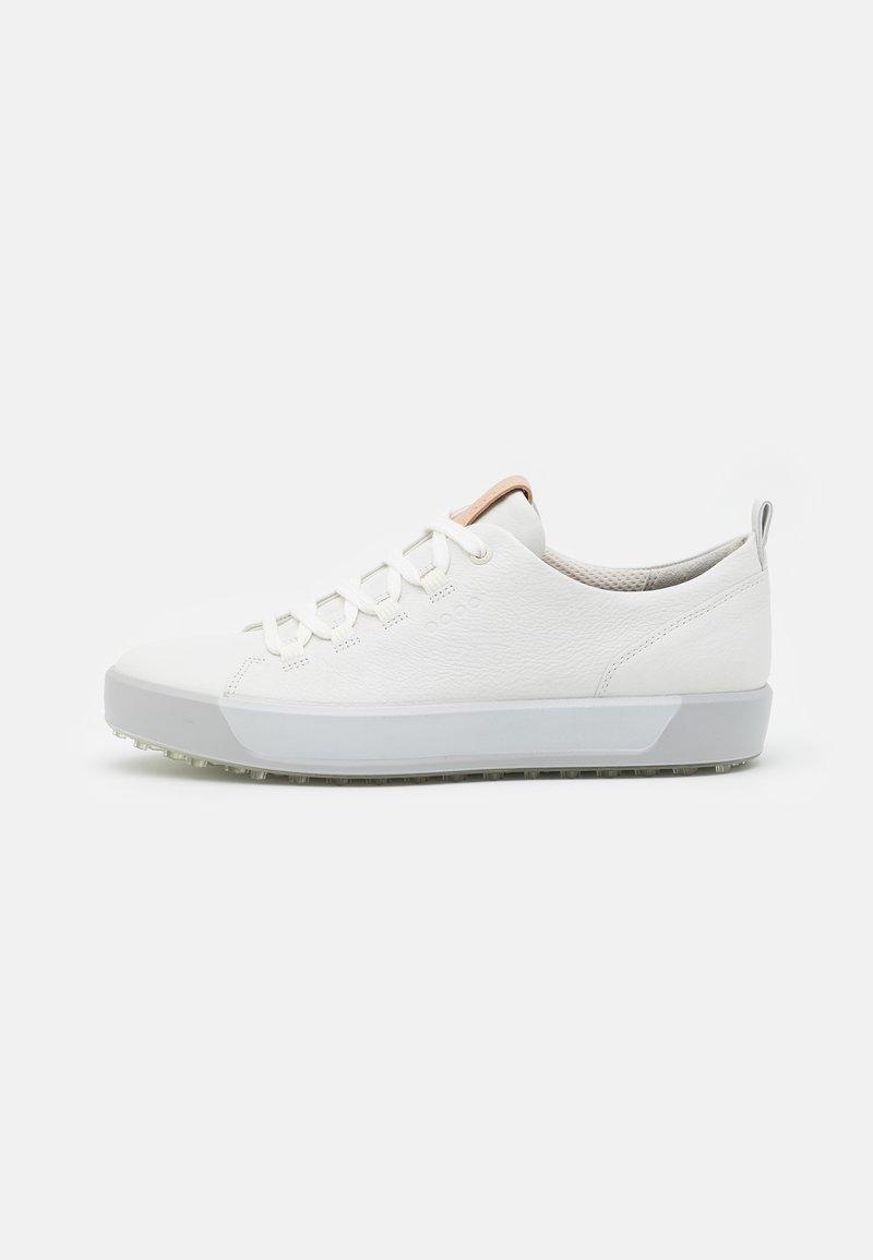 ECCO - GOLF SOFT - Golfové boty - bright white/concrete