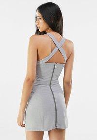 Bershka - Cocktail dress / Party dress - light grey - 2