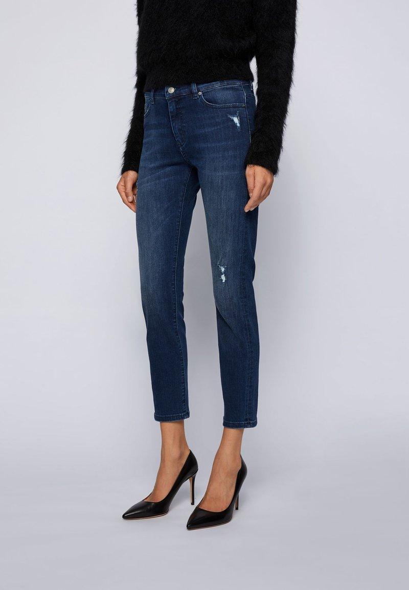 BOSS - Slim fit jeans - dark blue
