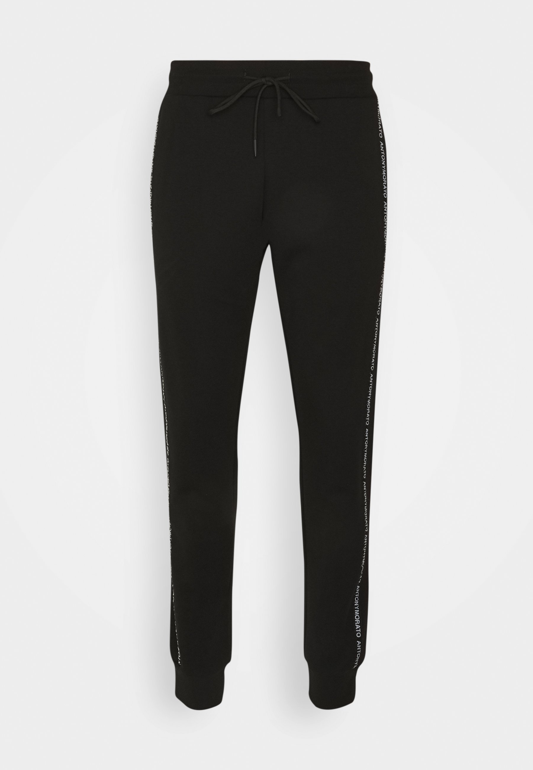 Men TROUSERS SLIM FIT IN TERRY FABRIC WITH RUBBER - Tracksuit bottoms