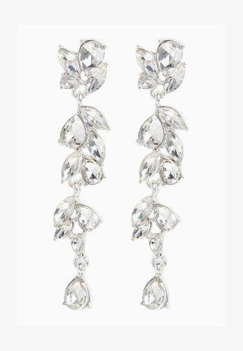 CRYSTAL  - Earrings - silver