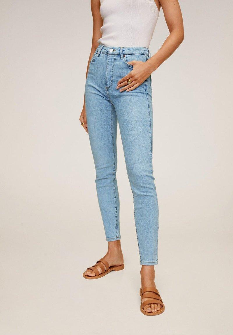 Mango - NOA - Jeans Skinny Fit - hellblau