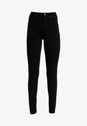GOOD WAIST PONTE RIDING PANT - Pantaloni - black