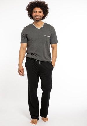 Pyjamas - grau / schwarz