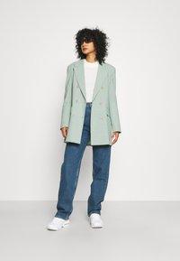 Selected Femme - SLFBLAIR LONG - Relaxed fit jeans - dark blue denim - 1