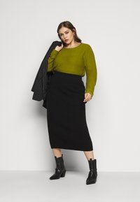 Glamorous Curve - SKIRT - Pencil skirt - black - 1