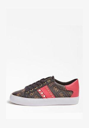 GRASEY 4G-LOGO - Sneakersy niskie - mehrfarbig braun