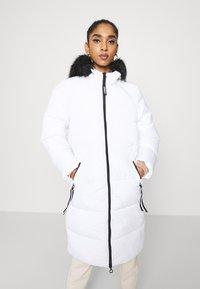 ONLY - ONLMONICA LONG PUFFER COAT  - Winter coat - bright white - 0