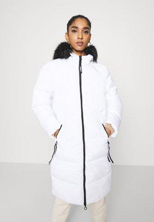 ONLMONICA LONG PUFFER COAT  - Winter coat - bright white