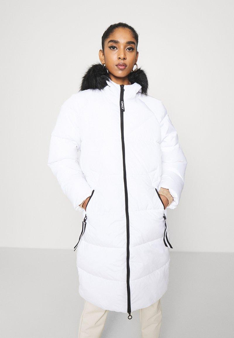 ONLY - ONLMONICA LONG PUFFER COAT  - Winter coat - bright white