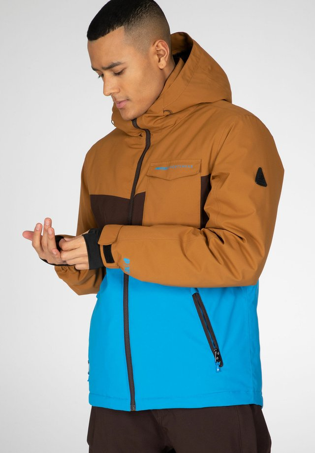 LARRY  - Snowboard jacket - marlin blue