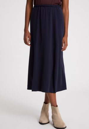 KATINKAA - Pleated skirt - night sky