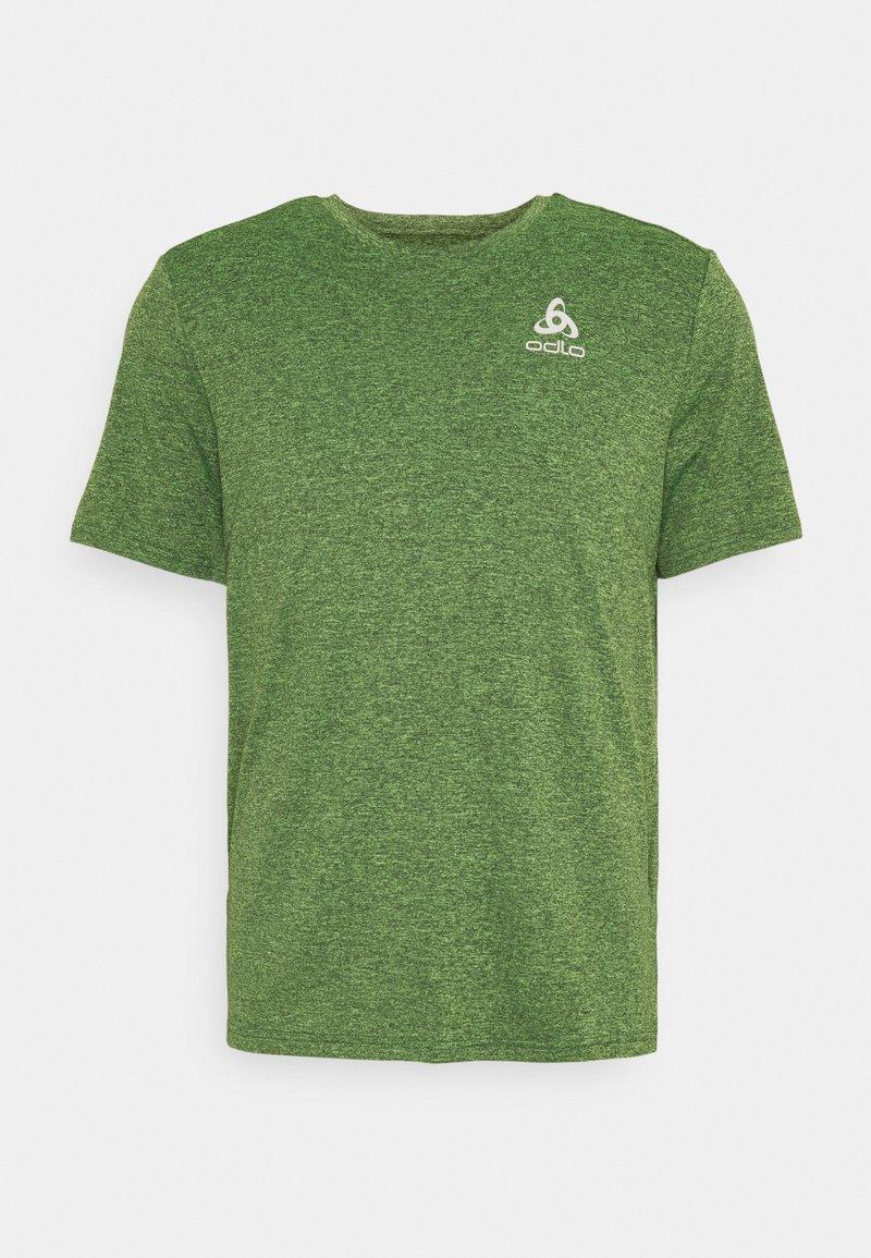 ODLO - RUN EASY 365 CREW NECK - T-shirt basique - lounge lizard melange