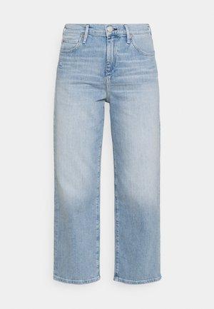 STAR HIGHRISE STRAIGHT LEG - Džíny Straight Fit - denim blue