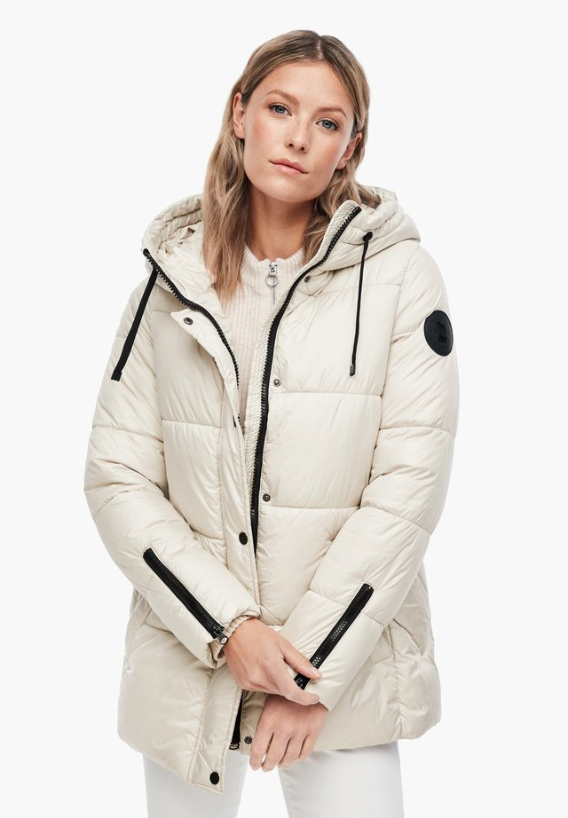 Winter jacket - cream