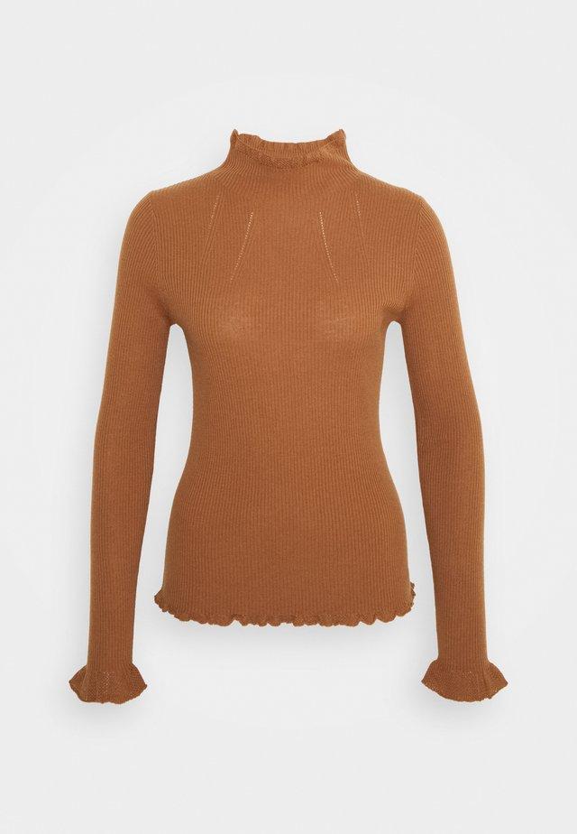 Strickpullover - maroon