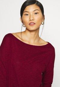 Sisley - Long sleeved top - dark red - 4