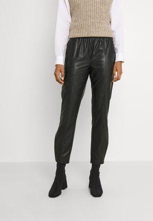 BYESONI PANTS - Trousers - black