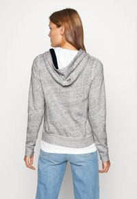 Abercrombie & Fitch - LONG LIFE FULL ZIP - Bluza rozpinana - grey - 2
