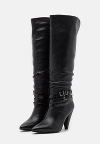 Liu Jo Jeans - SUZIE  - High heeled boots - black - 2