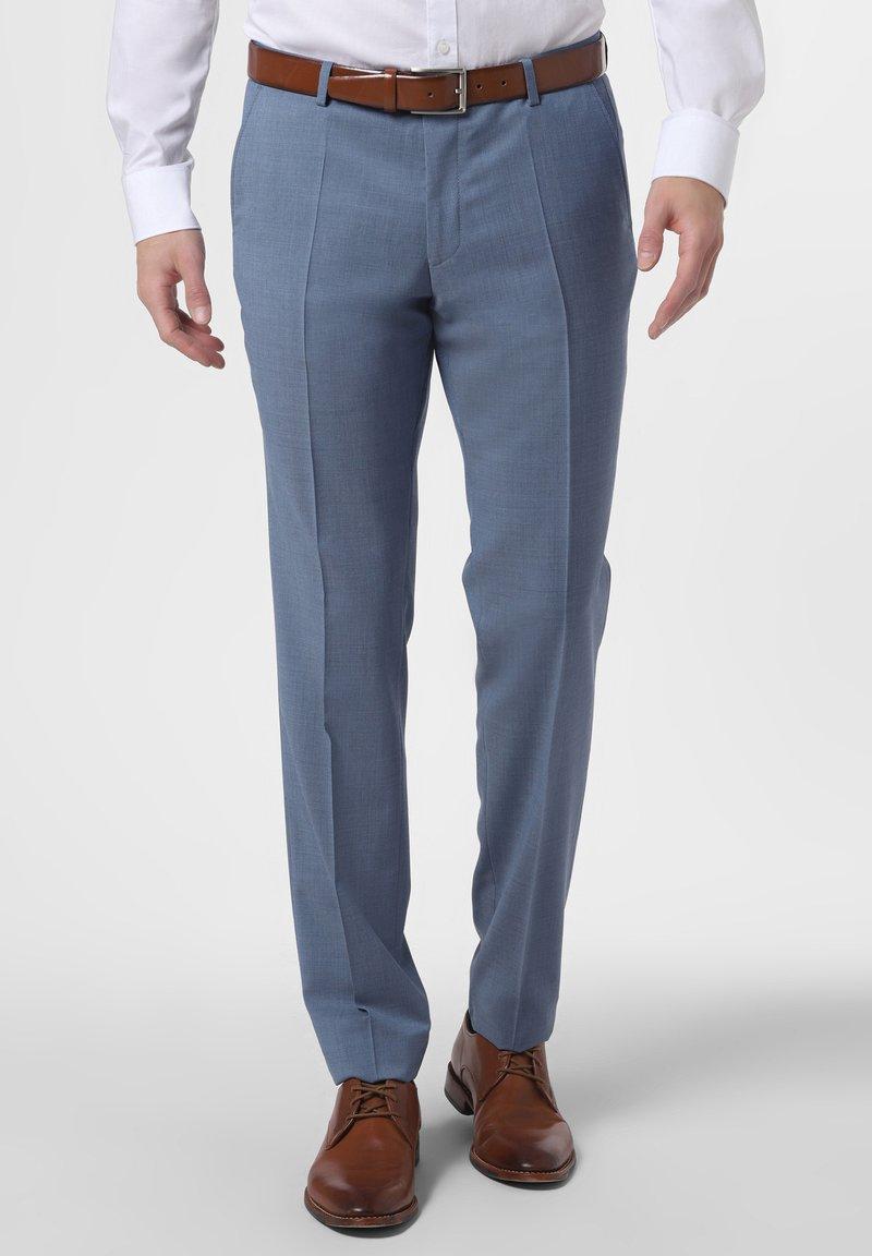 CG – Club of Gents - BAUKASTEN  - Suit trousers - hellblau