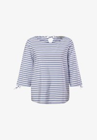 comma casual identity - Blouse - powder blue woven stripes - 5
