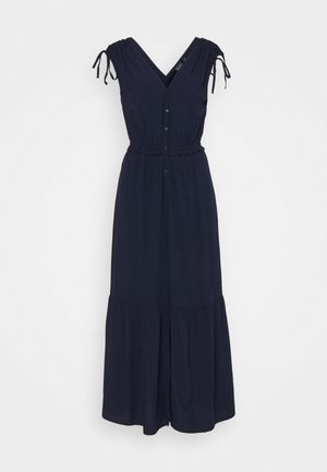RUCHED  - Robe longue - navy uniform