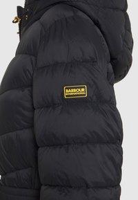 Barbour International - LINEOUT QUILT - Winter coat - black - 3