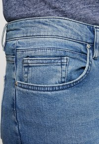 Daily Basis Studios - SKINNY FIT CAST - Jeans Skinny Fit - blue rip - 3