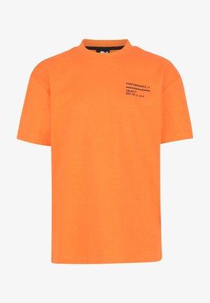 EMANUEL - Printtipaita - orange