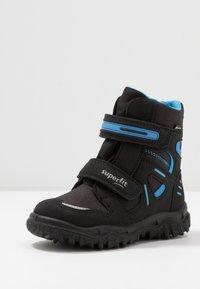Superfit - HUSKY - Winter boots - schwarz/blau - 2