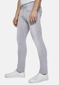 TOM TAILOR - TROY - Slim fit jeans - light stone grey denim - 3