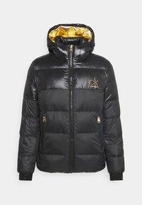 Calvin Klein - LOGO PUFFER JACKET - Down jacket - black - 0